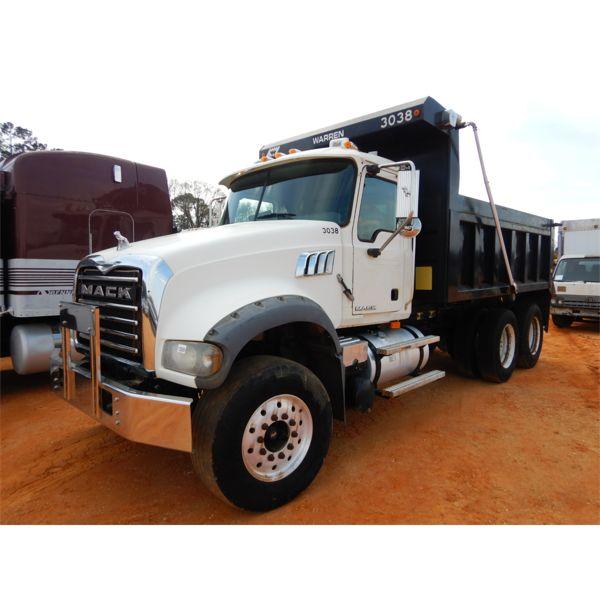 2010 MACK GU713 Dump Truck