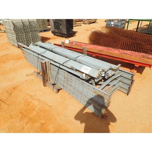 (1) bundle pallet stacking racks