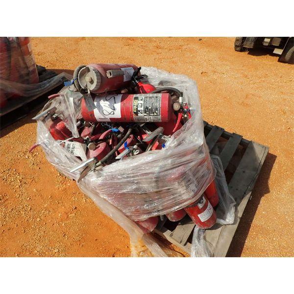 (1) pallet fire extinguishers