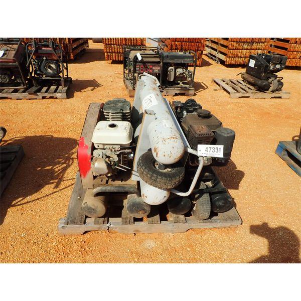 (3) air compressors, 10 gal