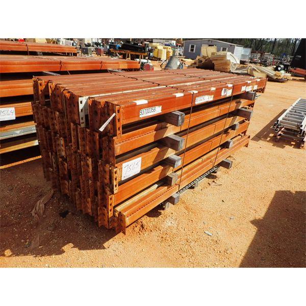 (1) pallet 8' steel support rails