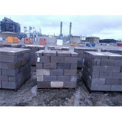 2 pallets of approx. 75 standard core concrete blocks w/ approx. 15 pavers