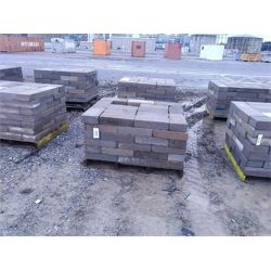 2 pallets of concrete pavers approx. 25 per pallet