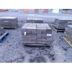 4 pallets w/ assorted concrete blocks