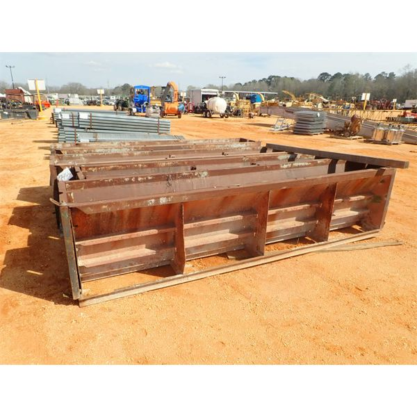 (4) split forms for concrete bearings