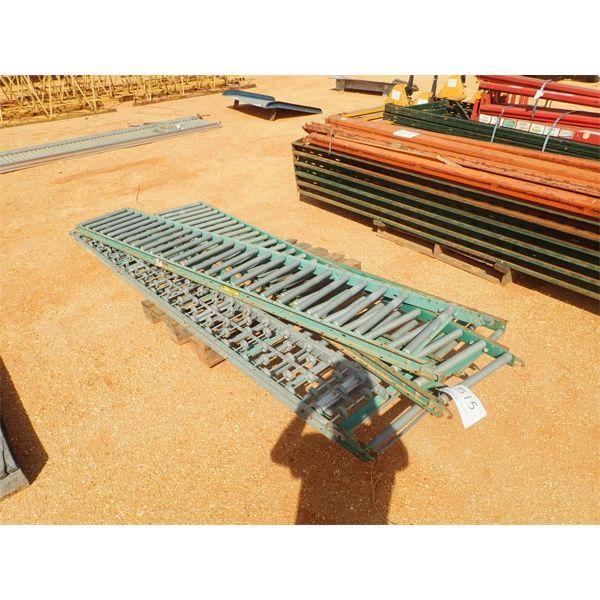 (5) section roller conveyor