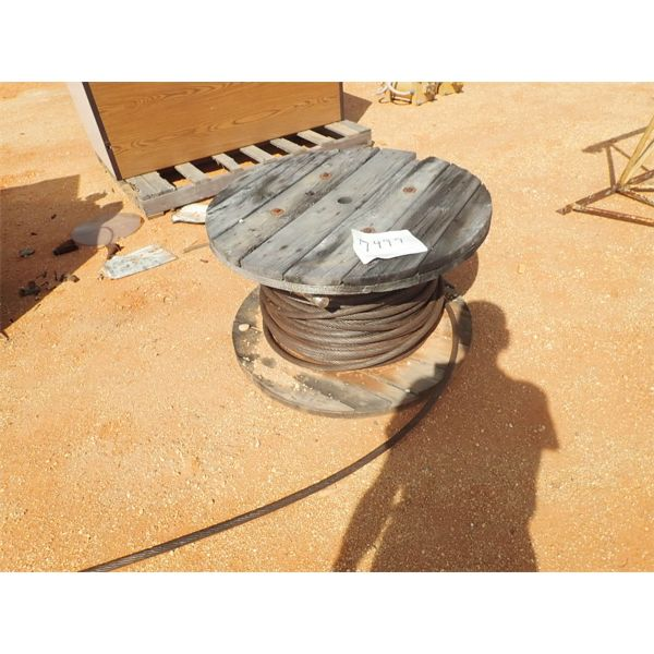 Reel & steel cable
