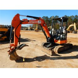 2013 HITACHI ZX35U-5N Excavator - Mini