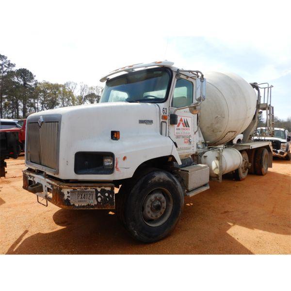 2007 INTERNATIONAL PAYSTAR 5000 Concrete Mixer / Pump Truck