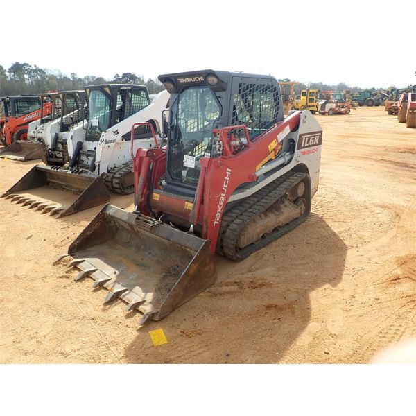 2018 TAKEUCHI TL6R Skid Steer Loader - Crawler