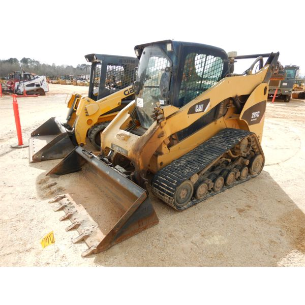 2008 CAT 297C Skid Steer Loader - Crawler