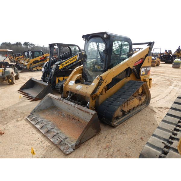 2015 CAT 289D Skid Steer Loader - Crawler