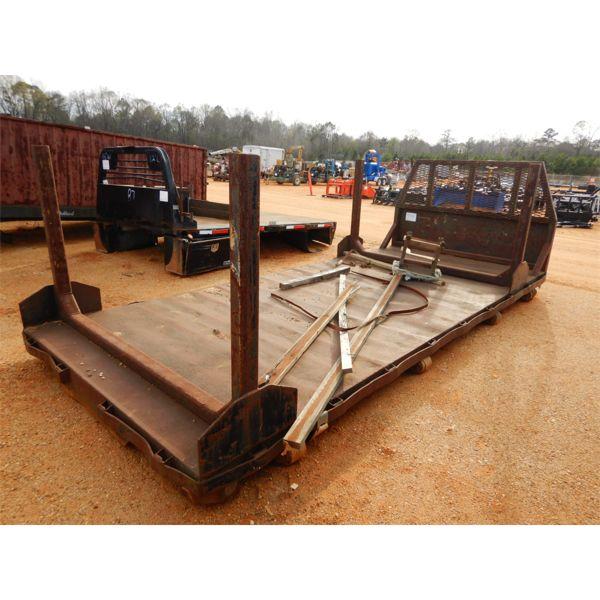 18' flat truck bed