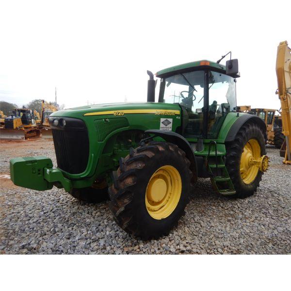 2004 JOHN DEERE 8120 Scraper Tractor