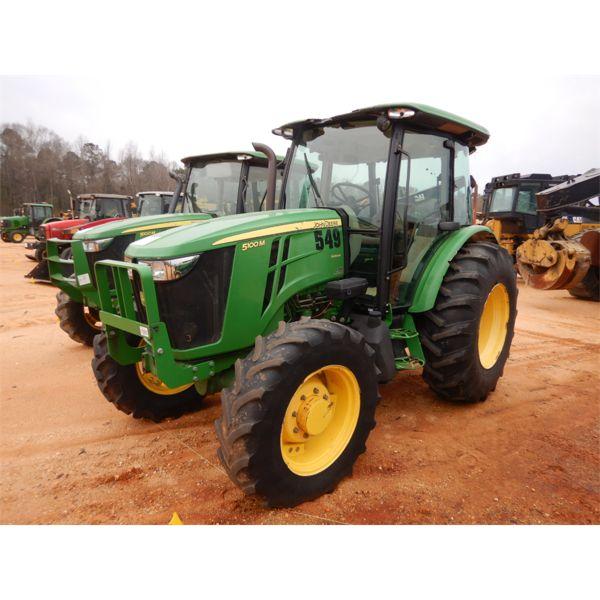 2013 JOHN DEERE 5100M Farm Tractor