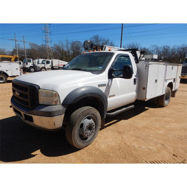 2006 FORD F550 Service / Mechanic Truck