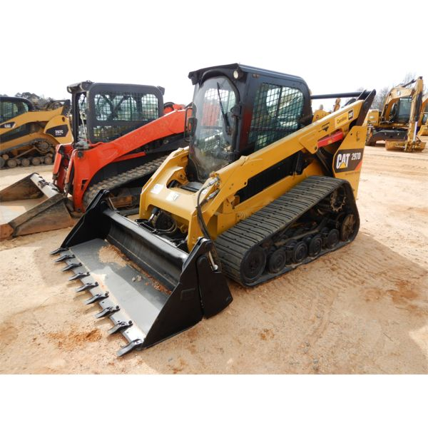 2015 CAT 297D Skid Steer Loader - Crawler