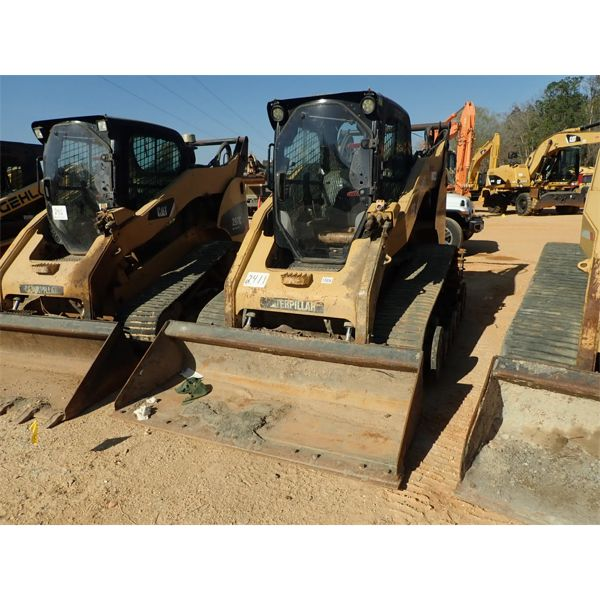 2009 CAT 297C Skid Steer Loader - Crawler