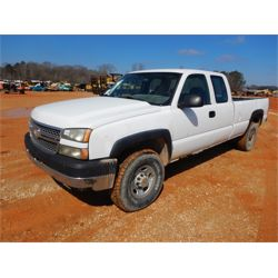 2005 CHEVROLET 2500 HD Pickup Truck