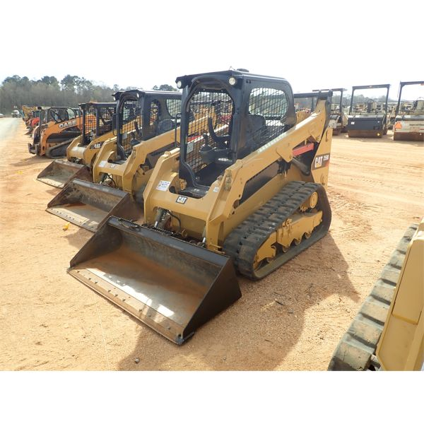 2015 CAT 259D Skid Steer Loader - Crawler