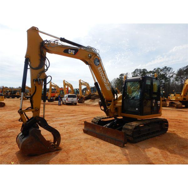 2017 CAT 308E2 CR5B Excavator