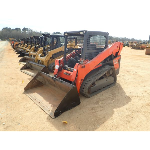 2014 KUBOTA SVL75-2 Skid Steer Loader - Crawler