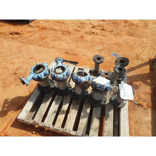"""(4) 4"""" steam expansion joint w/valve"""