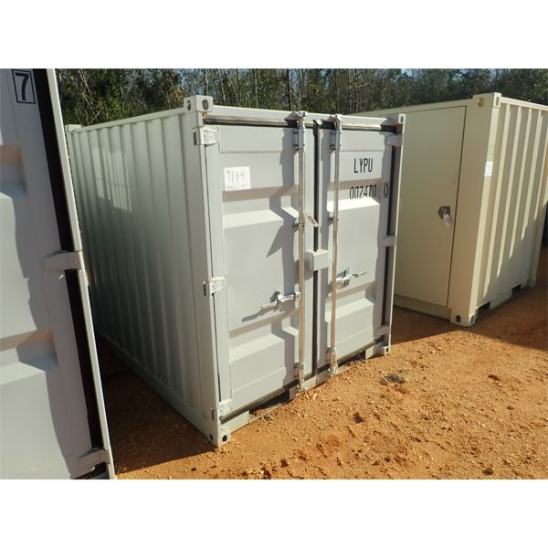 6' x 7' steel office container
