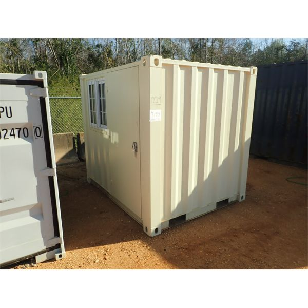 """78"""" x 8' steel office container"""