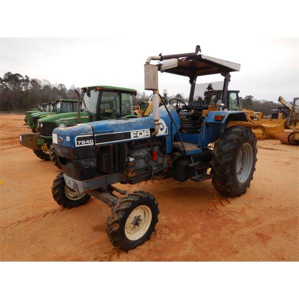 1995 FORD 7840 SLE Farm Tractor