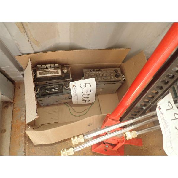 (3) 12volt car/truck radio (in container)