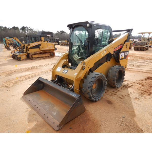 2015 CAT 262D Skid Steer Loader - Wheel