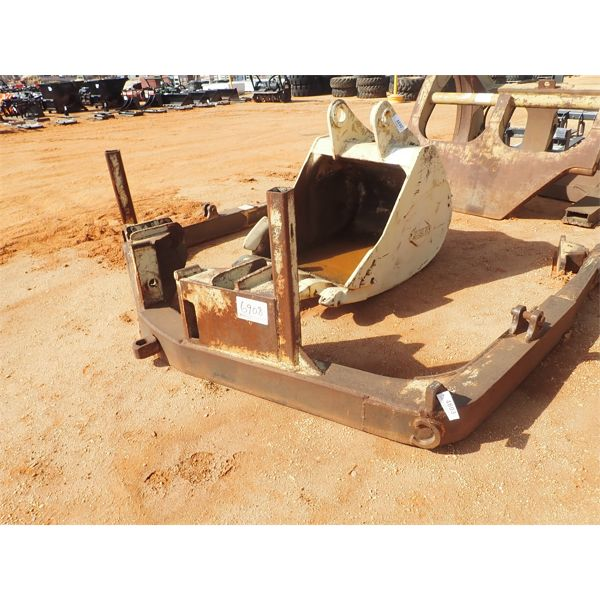 C-frame, fits crawler tractor