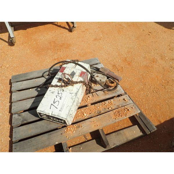 Cuffing 2 ton electric chain hoist