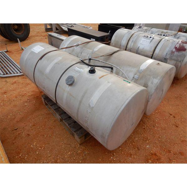 (2) aluminum 150 gallon fuel tanks