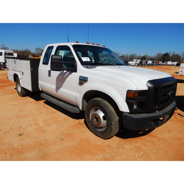 2008 FORD F350 Service / Mechanic Truck