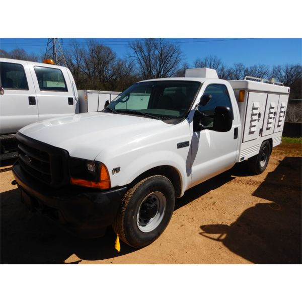 2001 FORD F250 Specialty Truck