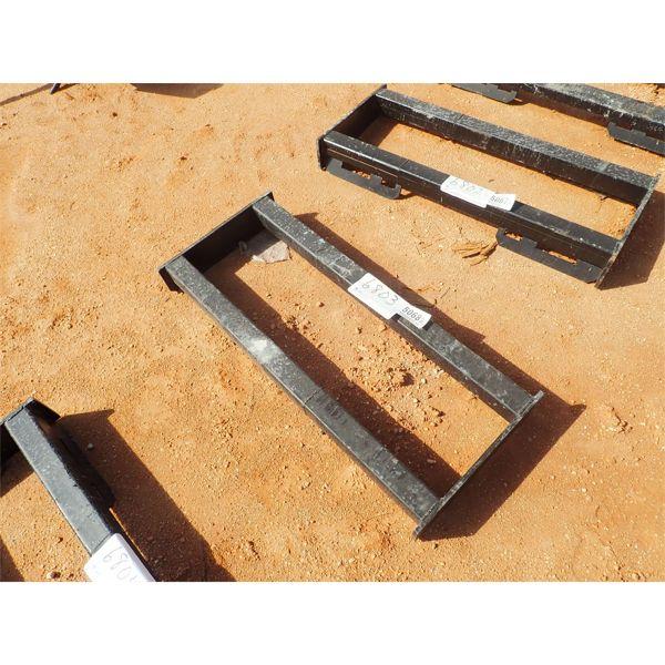 Weld on tube frame, fits skid steer loader