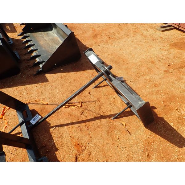 Hay spear, fits skid steer loader