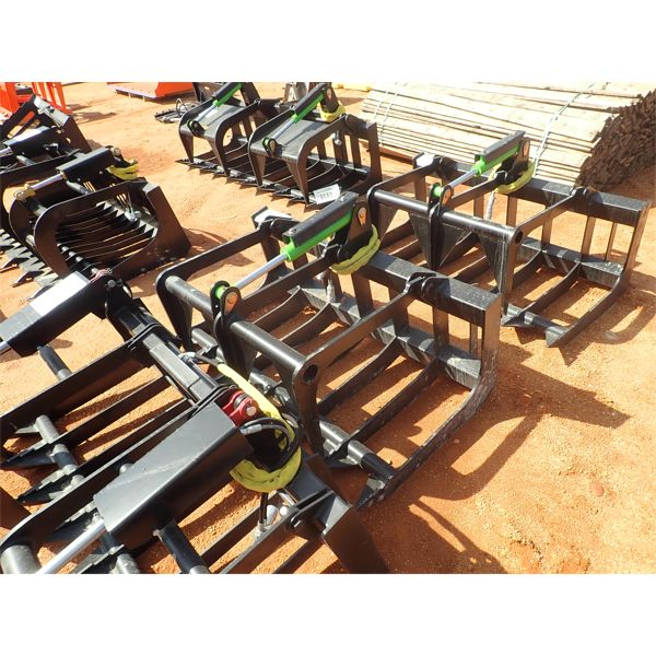 """E SERIES 56"""" root grapple, fits skid steer loader"""