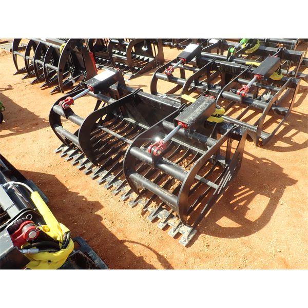 "EXTREME 66"" root grapple, fits skid steer loader"