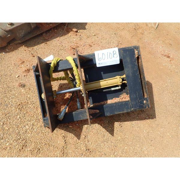 Hyd clamp, fits hyd excavator