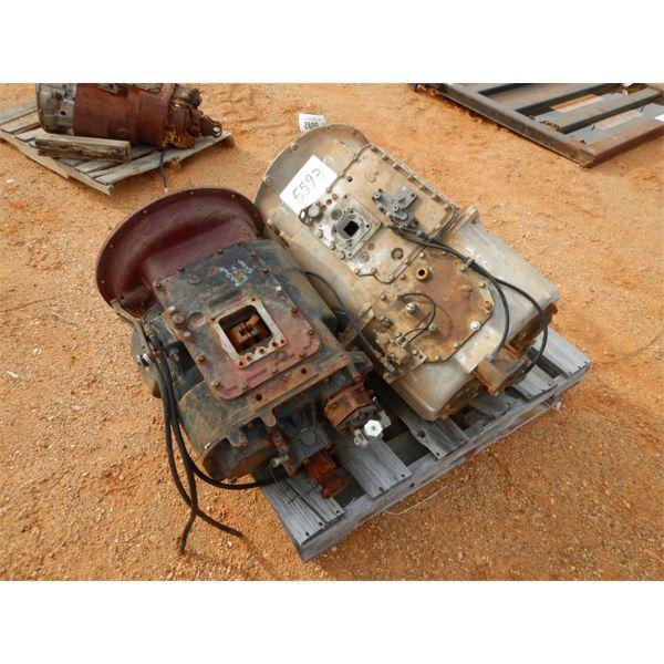 (2) transmissions, Road Ranger & Maxtorque