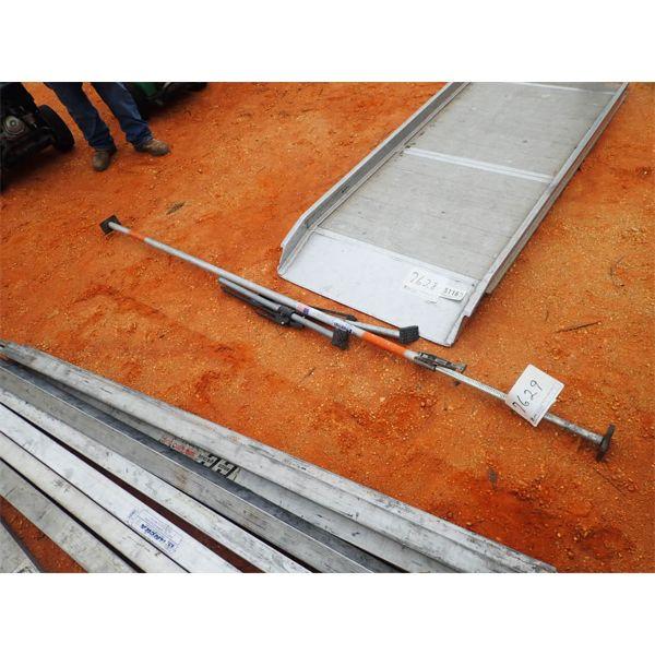 (2) cargo lock bars