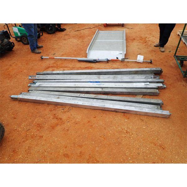 (12) heavy duty shoring/decking beam