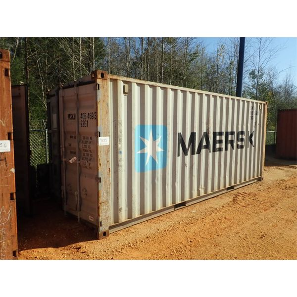 20' steel shipping container