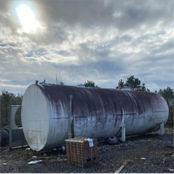 18,000 GALLON STEEL divided, 34.5' length, 10' height