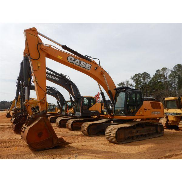 2015 CASE CX350D Excavator