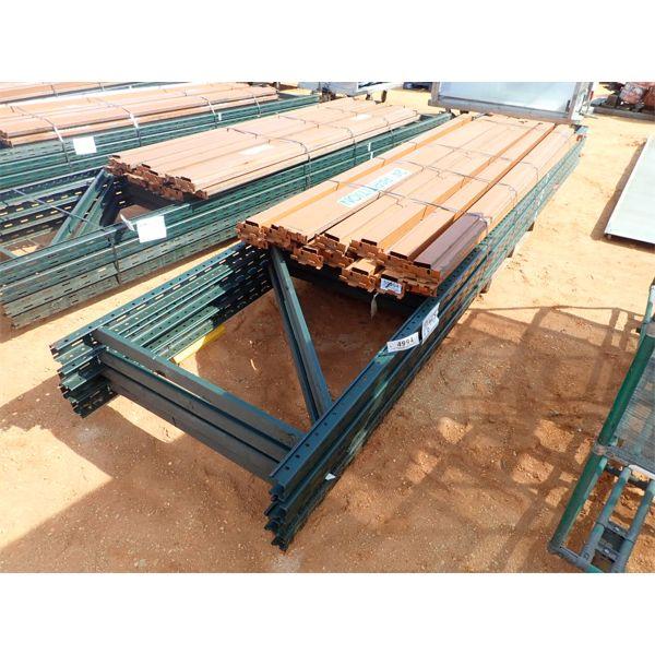 (1) bundle of pallet stacking racks