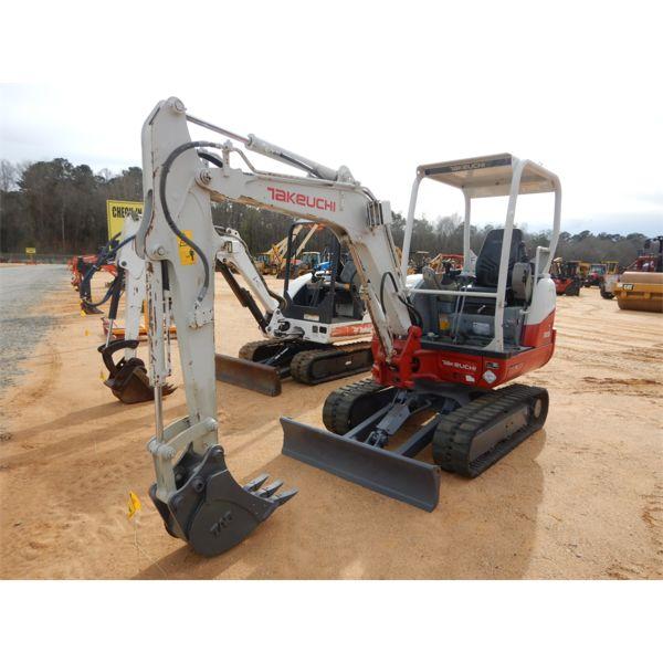 2016 TAKEUCHI TB230 Excavator - Mini